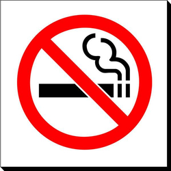 Symbol Sign - No Smoking