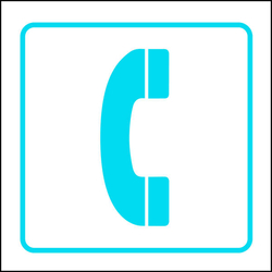 Symbol Sign - Telephone