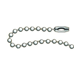 "Ball Chain - No. 6 4"" long"